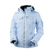 Obermeyer Leighton (Petite) Womens Insulated Ski Jacket, Ice Blue, medium