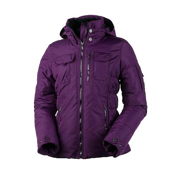 Obermeyer Leighton (Petite) Womens Insulated Ski Jacket, Sangria, 600