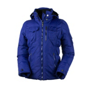 Obermeyer Leighton (Petite) Womens Insulated Ski Jacket, Regal Blue, medium