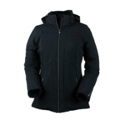 Obermeyer Siren Womens Insulated Ski Jacket, Black, medium
