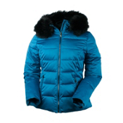 Obermeyer Bombshell (Petite) Womens Insulated Ski Jacket, Gypsy Blue, medium