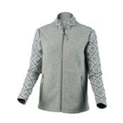Obermeyer June Cardigan Womens Sweater, Heather Grey, medium