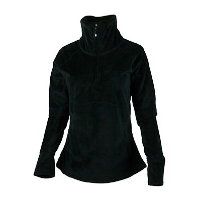 Obermeyer Brandi Fleece Womens Mid Layer, Black, viewer