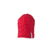 Obermeyer Pearl Knit Hat Womens Hat, Tiger Lily, medium
