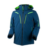 Obermeyer Spartan Mens Insulated Ski Jacket, Eclipse, medium