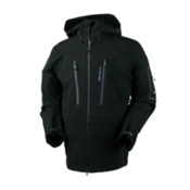 Obermeyer Capitol Shell Mens Shell Ski Jacket, Black, medium