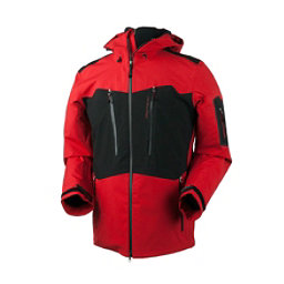 Obermeyer Capitol Mens Shell Ski Jacket, True Red, 256