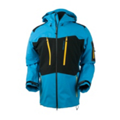 Obermeyer Capitol Shell Mens Shell Ski Jacket, Bluebird, medium