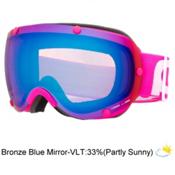 POC Lobes Goggles, Chromium Pink-Bronze Blue Mirr, medium