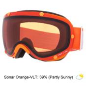 POC Lobes Goggles, Zink Orange-Sonar Orange, medium