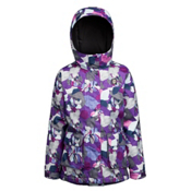 Orage Simone Girls Ski Jacket, Iris Collage, medium