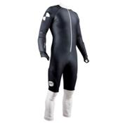 POC Skin GS Race Suit, Uranium Black-Hydrogen White, medium