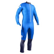 POC Skins GS Jr Race Suit, Terbium Blue-Nickel Blue, medium