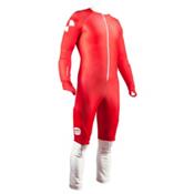 POC Skins GS Jr Race Suit, Bohrium Red, medium