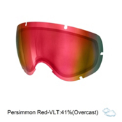 POC Lobes Goggle Replacement Lens 2016, Persimmon Red Mirror, medium