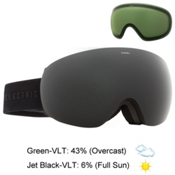 Electric EG3.5 Goggles 2016, Matte Black-Jet Black + Bonus Lens, medium