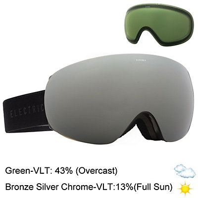 Electric EG3.5 Goggles, Matte Black-Jet Black + Bonus Lens, viewer