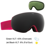 Electric EG3.5 Goggles, Solid Berry-Jet Black + Bonus Lens, medium