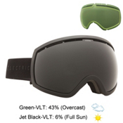 Electric EG2 Goggles, Matte Black-Jet Black + Bonus Lens, medium