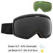 Electric EG2.5 Goggles 2016, Matte Black-Jet Black + Bonus Lens, medium