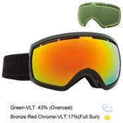 Electric EG2.5 Goggles 2016, Gloss Black-Bronze Red Chrome + Bonus Lens, medium