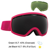 Electric EG2.5 Goggles, Solid Berry-Jet Black + Bonus Lens, medium