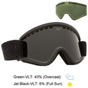 Electric EGV Goggles, Matte Black-Jet Black + Bonus Lens, medium