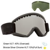 Electric EGV Goggles 2016, Gloss Black-Bronze Silver Chro + Bonus Lens, medium