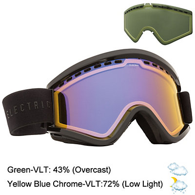 Electric EGV Goggles, Matte Black-Jet Black + Bonus Lens, viewer