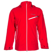 Columbia Carvin Mens Shell Ski Jacket, Bright Red, medium