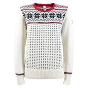 Dale Of Norway Garmisch Womens Sweater, Off White-Navy-Rasberry, medium