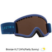 Electric EGV.K Kids Goggles, Navy Cyan-Bronze, medium