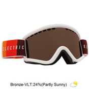 Electric EGV.K Kids Goggles, Orange Blast White-Bronze, medium