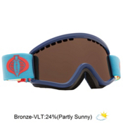 Electric EGV.K Kids Goggles, G.i. Joe Cobra-Bronze, medium