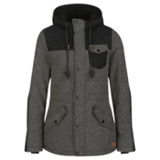 O'Neill Venus Womens Insulated Snowboard Jacket, Pirate Black, medium