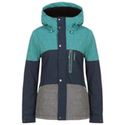 O'Neill Coral Womens Insulated Snowboard Jacket, Navy Night, medium