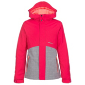 O'Neill Coral Girls Snowboard Jacket, Virtual Pink, medium
