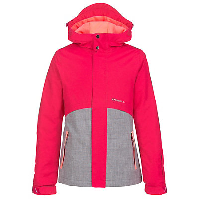 O'Neill Coral Girls Snowboard Jacket, Virtual Pink, viewer