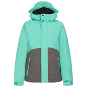 O'Neill Coral Girls Snowboard Jacket, Spearmint, medium