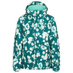 O'Neill Scribble Girls Snowboard Jacket, Blue Aop-Beige, 256