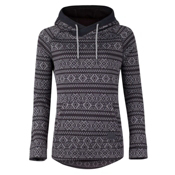 O'Neill Blaze Fleece Womens Hoodie, Grey Aop, medium