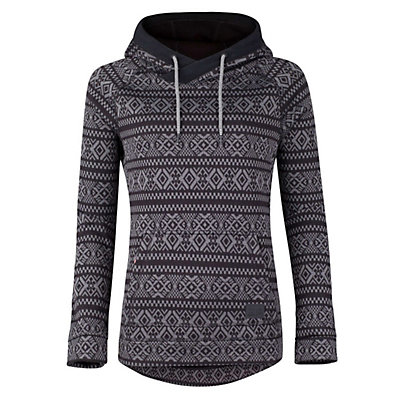 O'Neill Blaze Fleece Womens Hoodie, Grey Aop, viewer