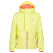 O'Neill Jewel Girls Snowboard Jacket, Sunny Lime, medium
