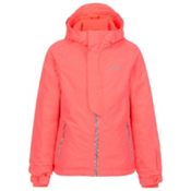 O'Neill Jewel Girls Snowboard Jacket, Neon Tangerine, medium