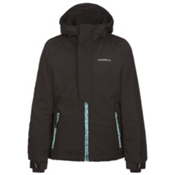 O'Neill Jewel Girls Snowboard Jacket, Black Out, medium