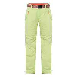 O'Neill Star Womens Snowboard Pants, Sunny Lime, 256