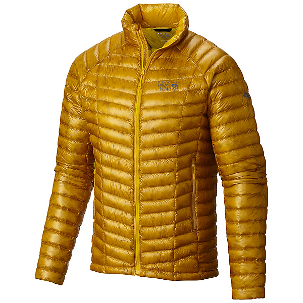 Mountain Hardwear Ghost Whisperer Down Mens Jacket, Inca Gold, 600