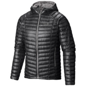 Mountain Hardwear Ghost Whisperer Hooded Down Jacket, Shark-Titanium, medium