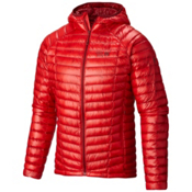 Mountain Hardwear Ghost Whisperer Hooded Down Jacket, Cherrybomb, medium