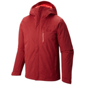 Mountain Hardwear Dragon's Back Mens Insulated Ski Jacket, Smolder Red, medium